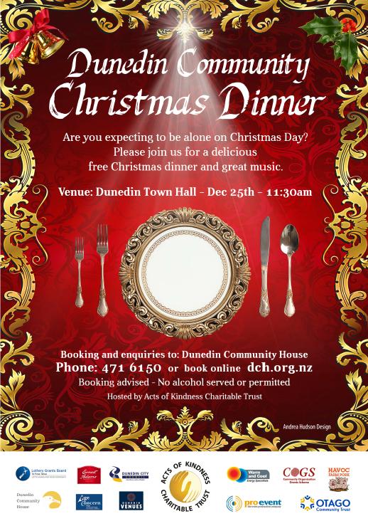 Poster for 2018 Dinner